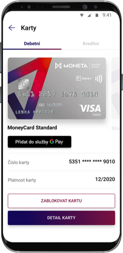 Mobil s Google Pay
